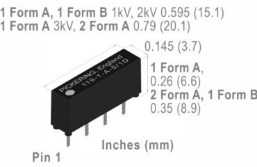 high voltage 119 reed relay